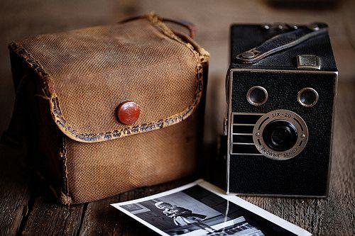 rusticmeetsvintage:Brownie Senior by -barbara carroll- #flickstackr  Flickr: http://flic.kr/p/r9EGFA