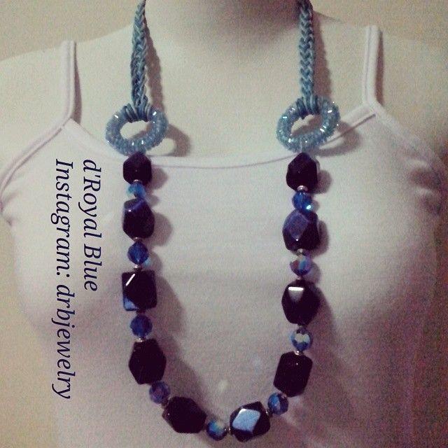 #baru #swarovski #crystals #kalung #hemp #dijual ! #necklace