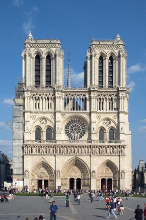 Notre Dame Cathedral - I love studying the artwork on this building. It's so profound