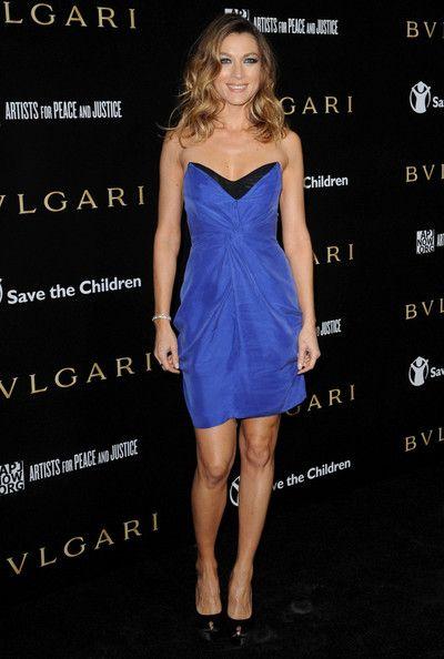 Natalie Zea Strapless Dress - Natalie Zea Looks - StyleBistro