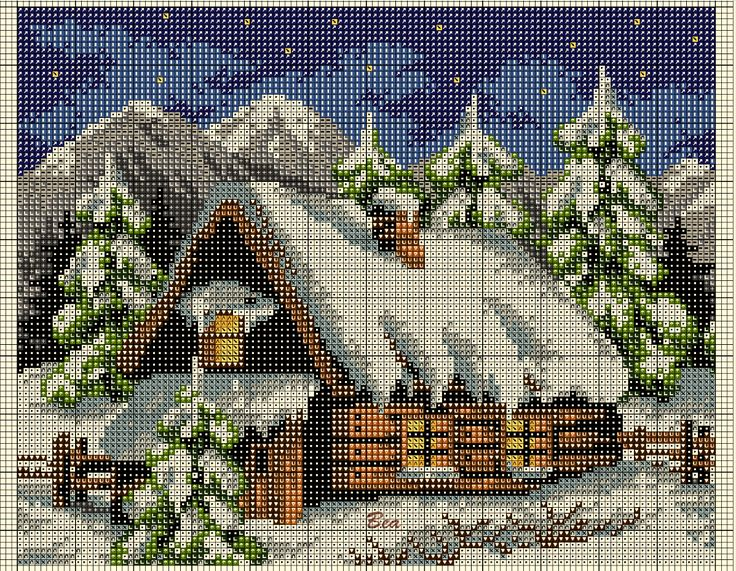 Cross Stitch *<3* Christmas