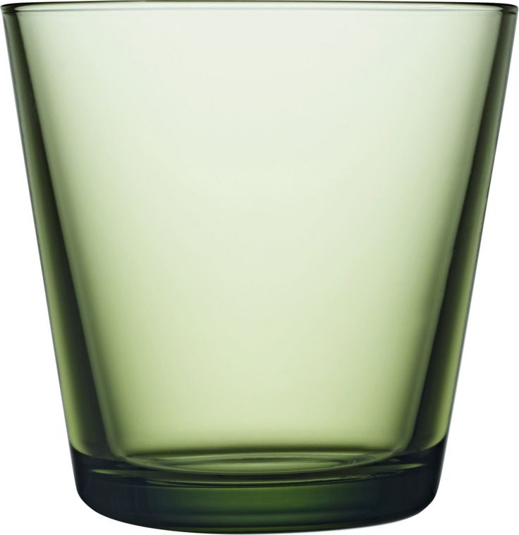 Iittala - Kartio Glass 21 cl forest green 2 pcs - Iittala.com