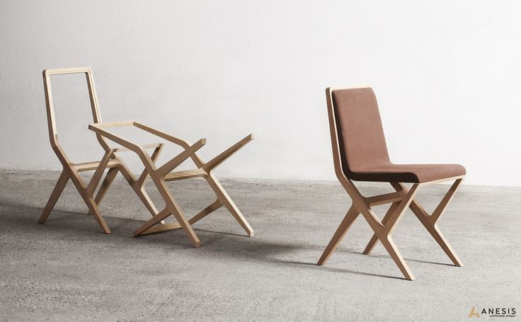 Nikka chair | Designed by George Bosnas for Anesis,