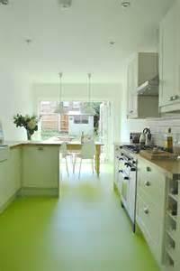 Green Kitchen Flooring #9 - Lime Green Kitchen Floor