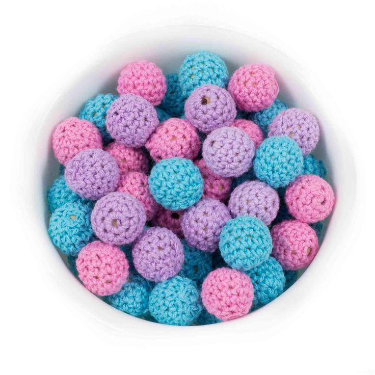 Crochet Round 16mm