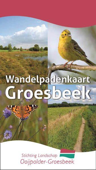Wandelpadenkaart Groesbeek