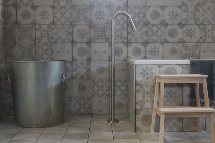 1000 images about hall of fame on pinterest entrance tile and dutch - Deco badkamer vintage ...
