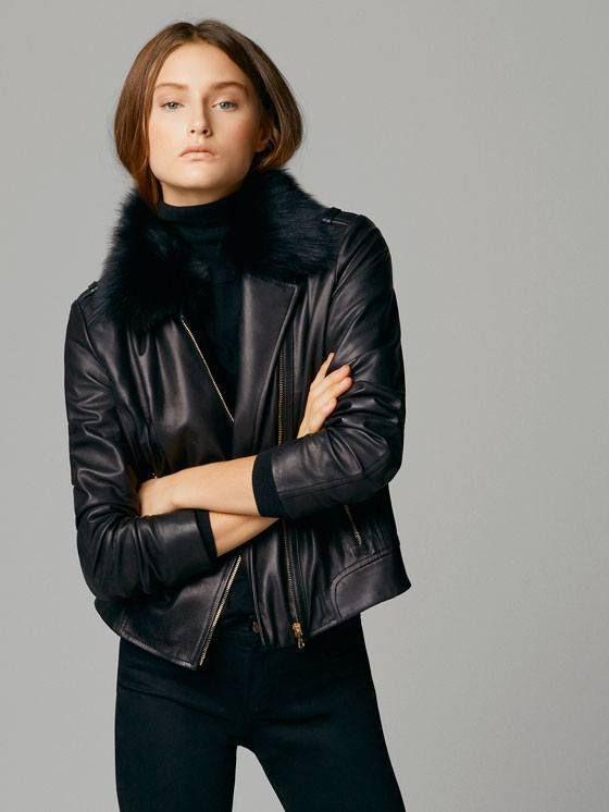 Massimo Dutti catalog Fall Winter 2015-2016 | Leather