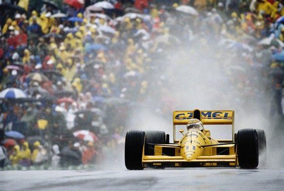 Lotus-Jud 101  Grande Prêmio Canadá 1989   - Piquet pilota sua Lotus-Judd #11 no GP do Canadá de 1989 - 4º classificado(Foto: Divulgação)