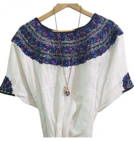 Flower Ethnic / Boho Shirt from Camboria Handwoven - Handmade LOVE IT!