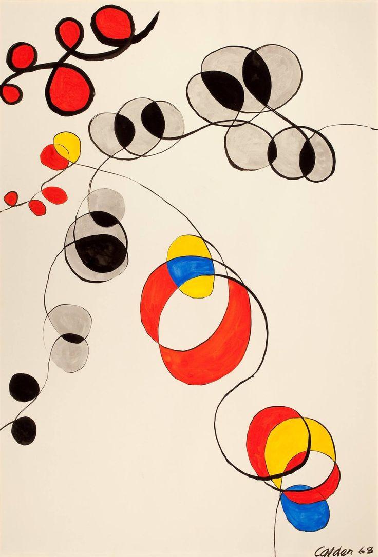 "retroavangarda: "" Alexander Calder, 1968 """