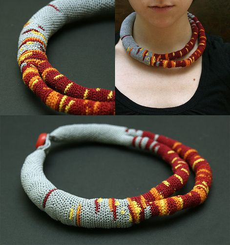 """""""Necklace with Split"""" by ulaniulani...some Beautiful things here!"""