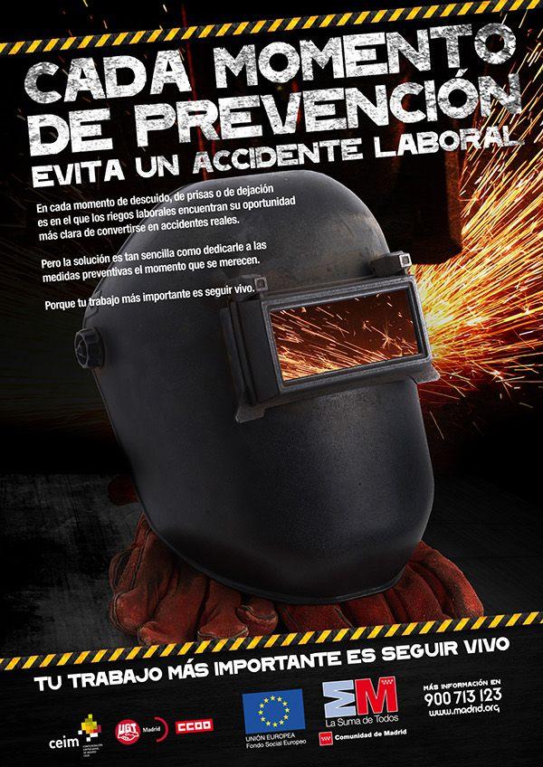 Campaña de Prevención de Riesgos Laborales on Behance
