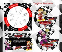 Kit Imprimible Mickey Aventuras Sobre Ruedas Candy Bar Edita - $ 54,90