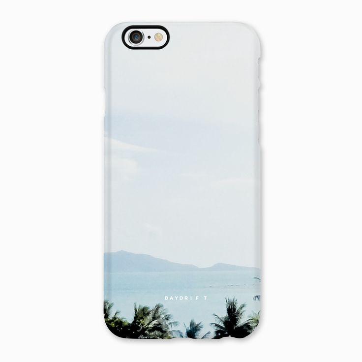 Limited edition luxury iPhone 5 and iPhone 6 Phone Cases featuring a Daydrift photograph of Koh Samui Thailand taken at W Retreat