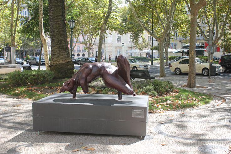 Tágide - Escultura de Rogério Timóteo