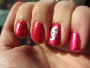 Victoria secret nail art | Manons nail creations