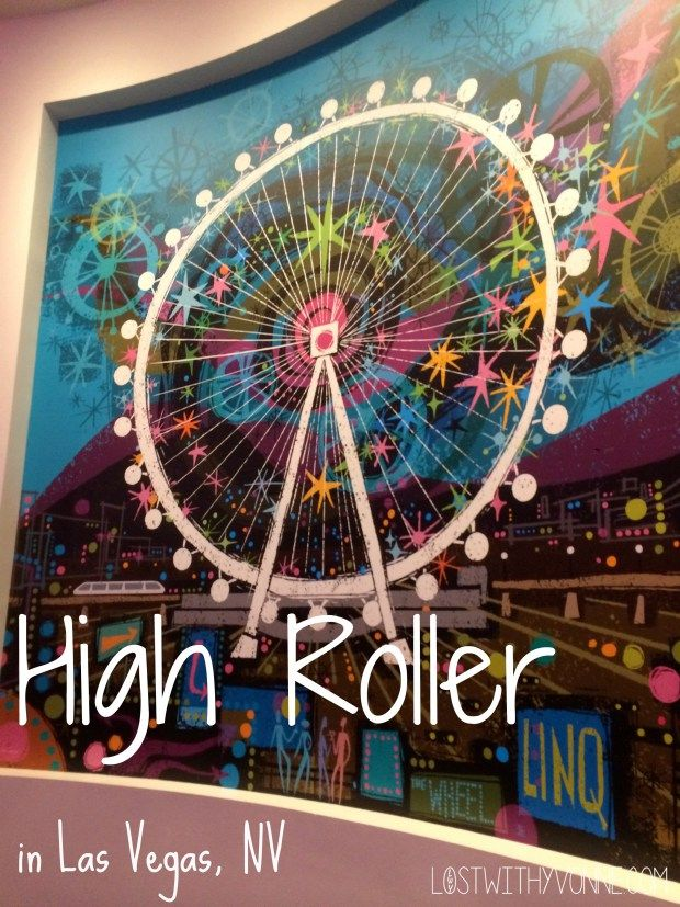 Ferris Wheel, beautiful views and an open bar? Check out what the High Roller has to offer you now!