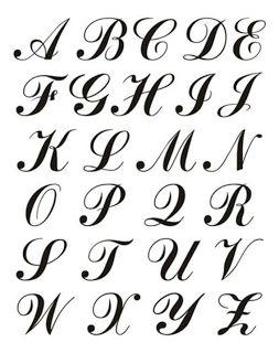 Riscos Para Bordar Ponto Russo : Monogramas Para Bordar em Ponto Russo