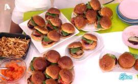 #Burger #λαχανικών και #πίκλες #καρότου  #eleni #ελενη #ΓιώργοςΤσούλης