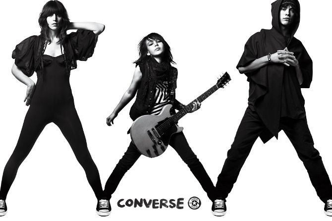Converse Connectivity : Luciana Projects     Client  Converse   Campaign Connectivity   Photographer Mark Abrahams   Agency  Anomaly   Art Producer Natalie Bertaux.