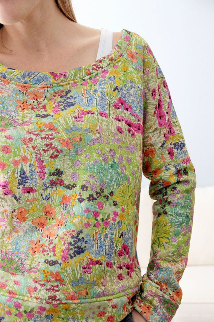 Use linden pattern make this look: Liberty of London Comfies