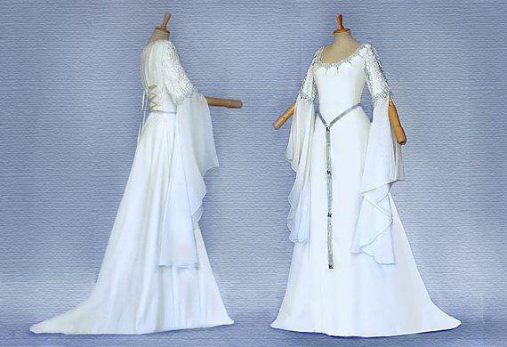 Elfenhaftes dress Weddingdress SANITA dress by Elfenkleider