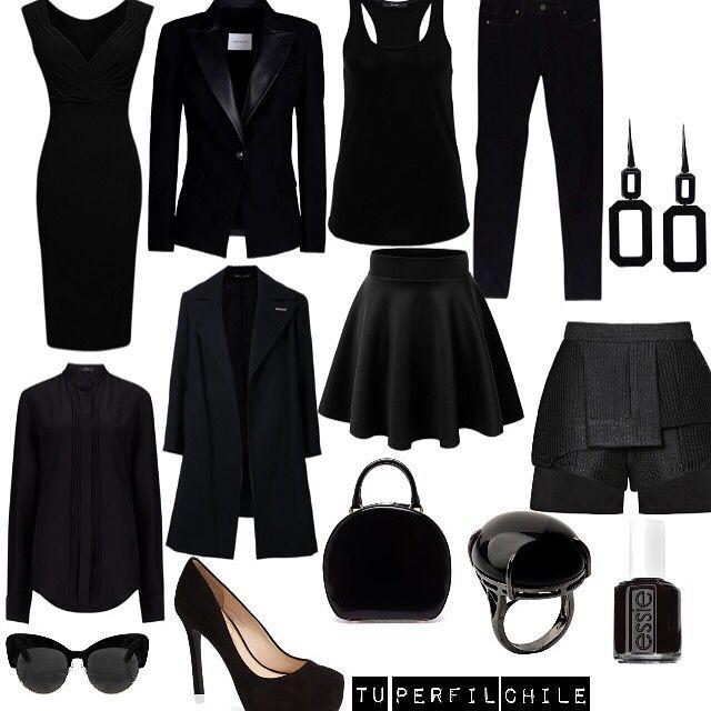 NEGRO: El color negro transmite, seriedad, poder, autoridad y responsabilidad, el color ideal para ir a buscar trabajo. Fuera de la oficina, el color negro es el color más usado en diferentes eventos: clubes nocturnos, bodas, fiestas, además es elegante y adelgaza.