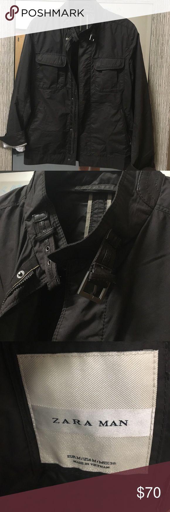 ZARA MENS LIGHT JACKET Perfect layering piece. Polyester, cotton, polyerathane. Zara Jackets & Coats Lightweight & Shirt Jackets