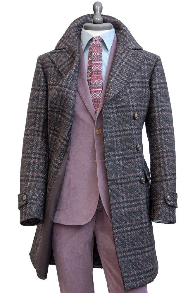 #Doublebreasted Bouclé Llama and Mohair Wool #Coat