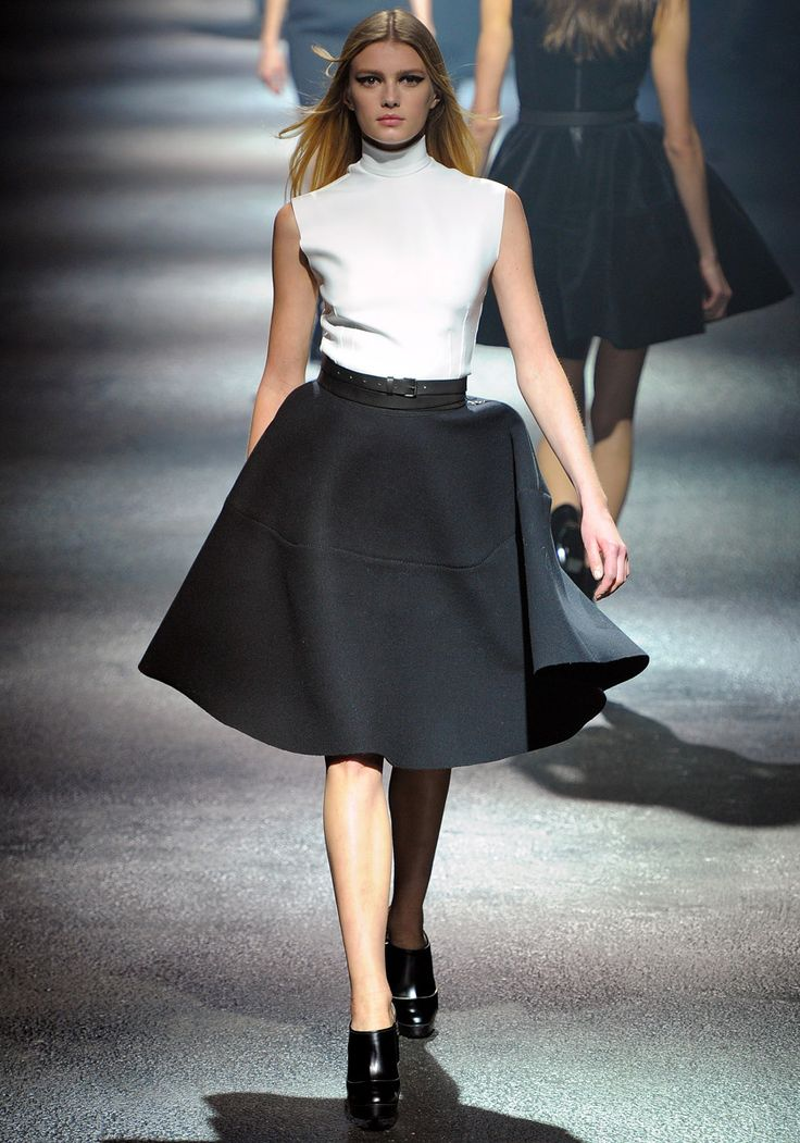 Lanvin Fall 2012: Fashion Week, Fw2012, Fall 2012, Fw 2012, Black White, Winter 201213, Lanvin Fall, 201213 Paris, 2012 Rtw