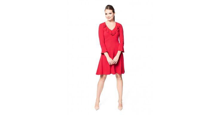Review Australia - Swift Dress Red