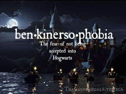 Hogwarts rejection letter?
