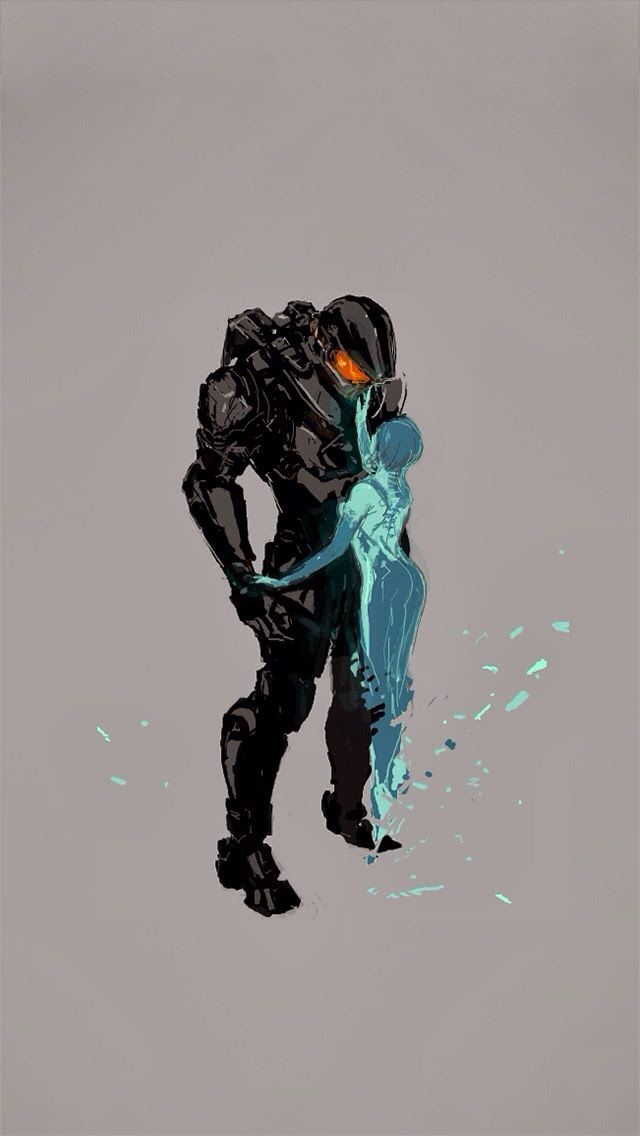 Master Chief and Cortana WHY 343 WHY?!?!?!?!?!?!?!?!