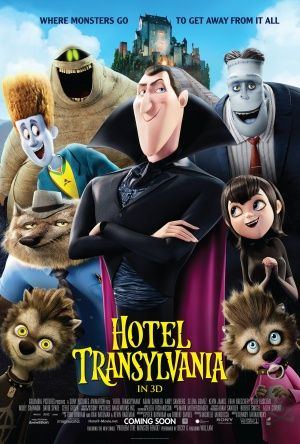 movie posters | ... Checking into Hotel Transylvania! » hotel transylvania movie poster