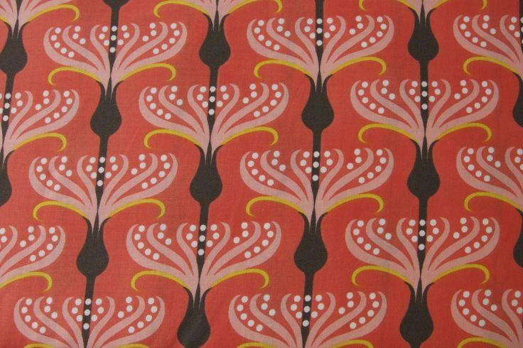 Stoff Pirouette coral von Michael Miller