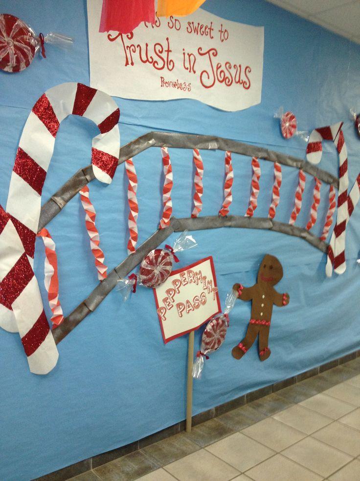 Candyland Christmas Door Decoration Ideas : Classroom decorations candyland sunday school