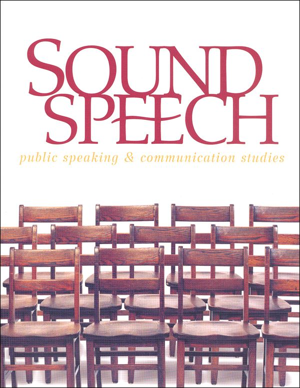Sound Speech: Public Speaking Student & Communication Studies