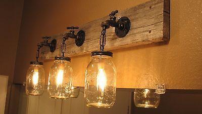 36-3-Mason-Jar-Vanity-Light-Fixture-Hose-Bibb-Style-Rustic-Reclaimed-Barnwood