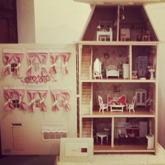 My doll house ..done by me