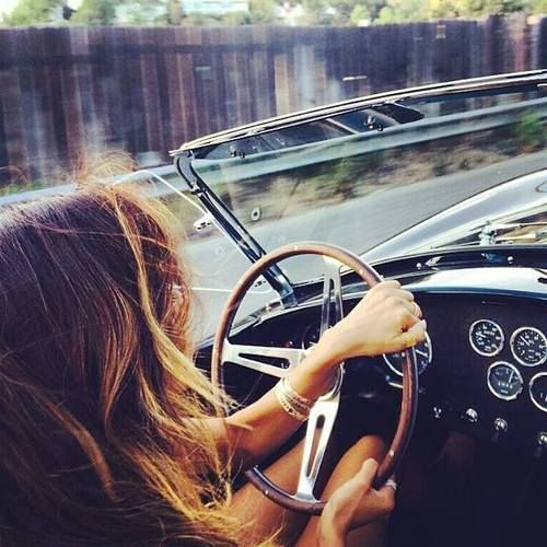 One day we just want to hop in the car and drive. Just drive. Go, go, go.