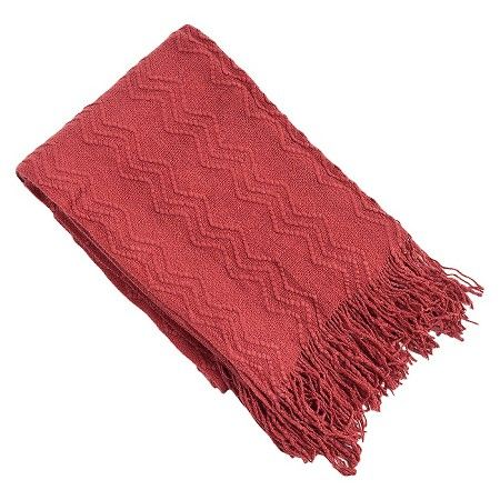 Knitted Zigzag Design Throw : Target
