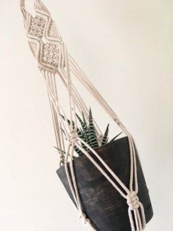How To Make Macrame Plant Hanger DIY 99 Inspiring Projects (60)