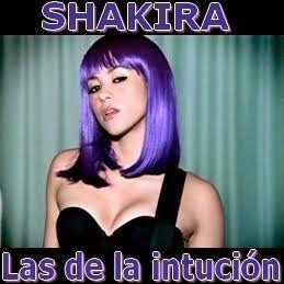 Acordes D Canciones: Shakira - Las de la intuición