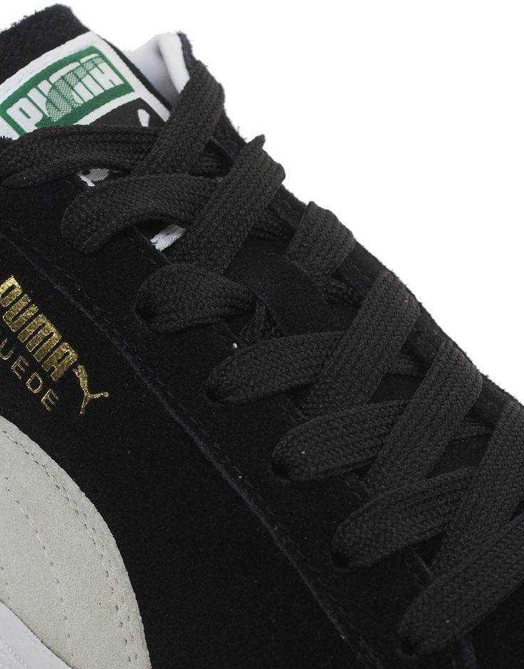 Puma Suede Sneakers - Black