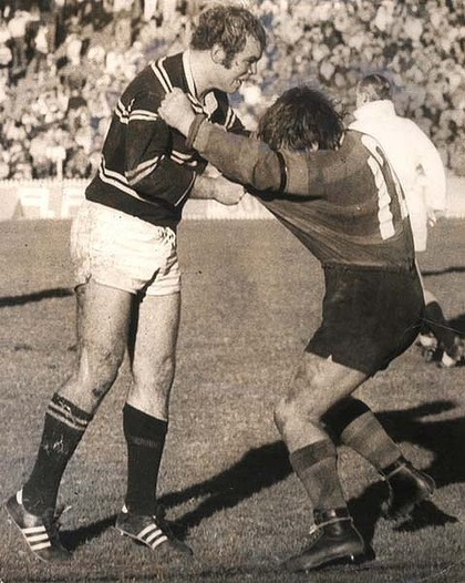 13. Malcolm Reilly 1971-75 (89 games) Lock  Reilly was a Great Britain international representative Loose forward/Lock, Reilly played club football for Castleford Tigers in England and Manly-Warringah in Australia. He helped the Sea Eagles to their first premiership in 1972 and to their second the following year. Post-playing, Reilly coached the Great Britain and also worked in Australia, taking the Newcastle Knights to their first premiership in 1997 (defeating Manly in the last 5 seconds).