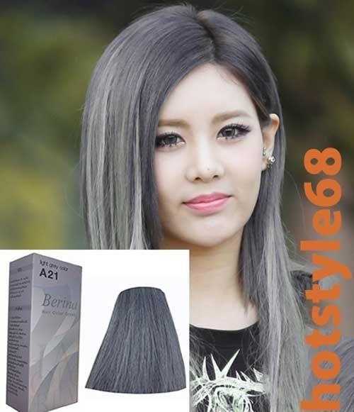 Coloration gegen graue haare