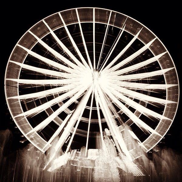 La vida es una rueda.