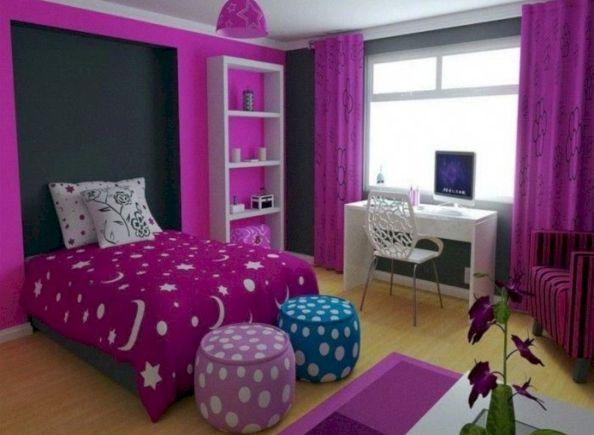 51 Hervorragende Schlafzimmer-Design-Ideen für Teenager