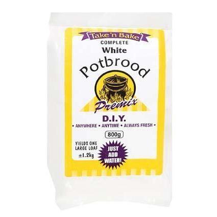 Take 'n Bake White Potbrood